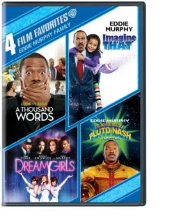 4 Film Favorites - Eddie Murphy: Thousand Words/Imagine That/Dreamgirls/Adventures of Pluto Nash