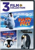 Video/DVD. Title: Happy Feet/Happy Feet 2/March of the Penguins