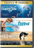 Video/DVD. Title: Dolphin Tale/Flipper/Free Willy