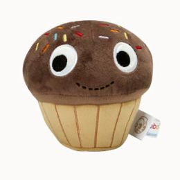 YUMMY Cupcake Brown Small Plush