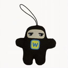 Shawnimals Pocket 4 Inch Plush, Super Ninja