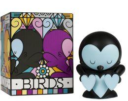 Kidrobot 4 Inch Vinyl Figure, Lovebirds Black Edition