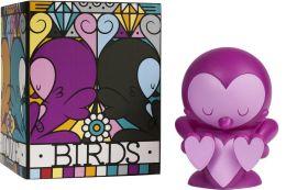 Kidrobot 4 Inch Vinyl Figure, Lovebirds Purle Edition