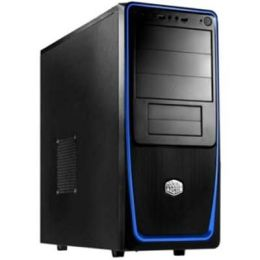 Coolermaster Elite 311 Blue w/side window Computer Cases