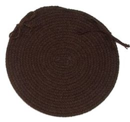 Madison MD84A015X015 Madison - Roasted Brown Chair Pad - set 4