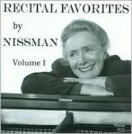 Recital Favorites by Nissman, Vol. 1