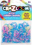 Product Image. Title: CraZLoom Glitter rubber bands