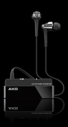 AKG K390TITNC headphones with active noise reduction
