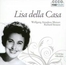 Lisa Della Casa sings Wolfgang Amadeus Mozart, Richard Strauss