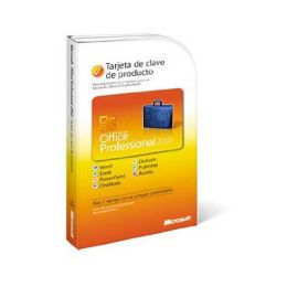Microsoft OFFICE PRO 2010 SP PC-ATTACH KEY PKC MICROCASE
