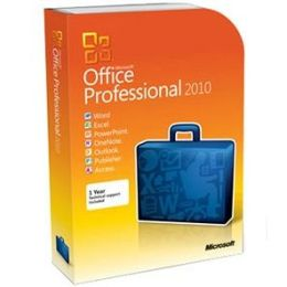 Microsoft Office 2010 Professional 32bit/x64 DVD
