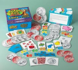 Childcraft Math Kindergarten Tutor Box Coins: Names and Values