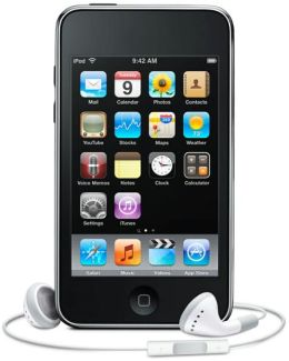 Apple iPod Touch 8GB - MC086LL/A 3rd Gen - Factory Refurbished