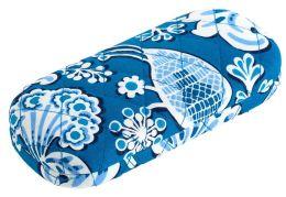 Vera Bradley Blue Lagoon Hard Eyeglass Case (6x2.75)