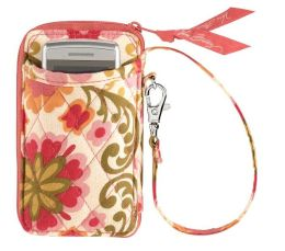 Vera Bradley Folkloric All in One Wristlet (3x5.25x.75)