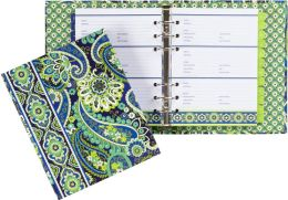 Vera Bradley Rhythm & Blues Paper Address Book
