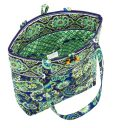 Product Image. Title: Vera Bradley Rhythm & Blues Fabric Tote (11 �� x 13 �� x 4� )
