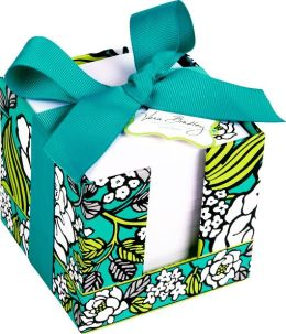 Vera Bradley Island Blooms Paper Note Cube (3.75x3.5x3.75)
