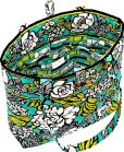 "Product Image. Title: Vera Bradley Island Blooms Fabric Tote 11.75"" x 13.5"" x 4"""