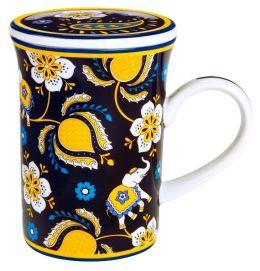 Vera Bradley Ellie Blue Mug