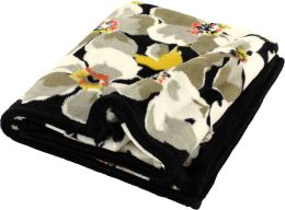 Vera Bradley Dogwood Plush Fleece Throw (50