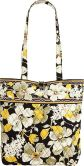 Product Image. Title: Vera Bradley Dogwood Fabric Tote (15X13)