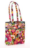 Product Image. Title: Vera Bradley VaVa Bloom Fabric Tote (11 �� x 13 �� x 4� )