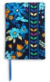 Product Image. Title: Vera Bradley Midnight Blues Fabric Paperback Bookcover 5.5'' x 7.75''