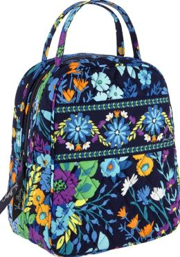 Vera Bradley Midnight Blues Lunch Bunch Tote
