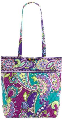 Vera Bradley Heather Fabric Tote 11.75