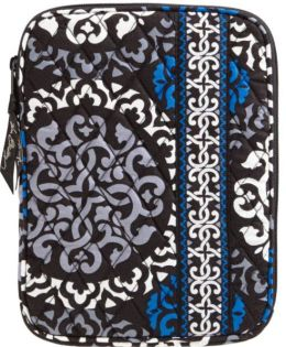 Vera Bradley Canterberry Cobalt Electronic Device/Tablet Case 6.25