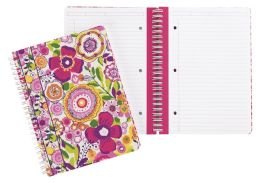 Vera Bradley Clementine Spiral Notebook Journal 6'' x 8''