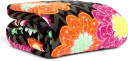 Vera Bradley Ziggy Zinnia Throw Blanket