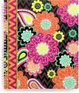 Product Image. Title: Vera Bradley Ziggy Zinnia Notebook