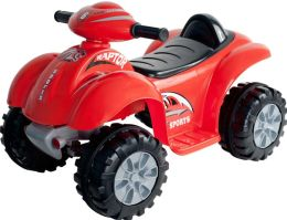 Lil' Rider Battery Powered Red Raptor 4 Wheeler
