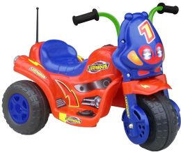 Lil' Rider Lux 3 Battery Operated 3 Wheel Bike - Red/Blue