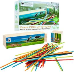 Zoo Animals Pick-up Sticks - Wood Classic Game