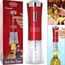 Automatic Wine Corkscrew Opener Electric Rechargeable