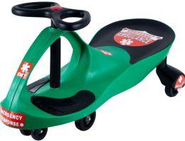 Lil' RiderT Green Responder Ambulance Wiggle Ride-on Car