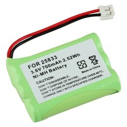 BasAcc - Compatible Ni-MH Battery For GE 25833 Cordless Phone