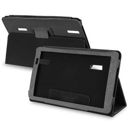 BasAcc - Leather Case for Archos 101 Internet Tablet, Black