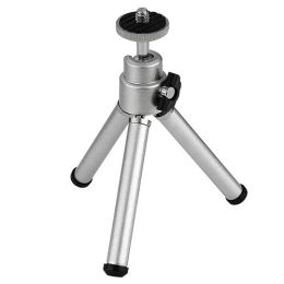 BasAcc - Silver Mini Retractable Tripod w/ Ball Head & Foldable Legs