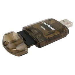 BasAcc - USB 2.0 SDHC/ SD/ MMC Memory Card Reader Adapter