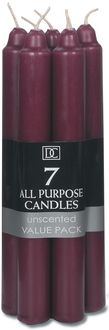 All Purpose Unscented Taper Candles 7