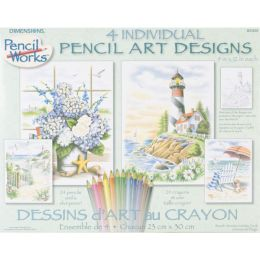 Dimensions Pencil By Number Kit 9
