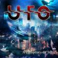 CD Cover Image. Title: A Conspiracy of Stars, Artist: UFO