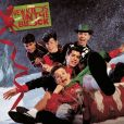 CD Cover Image. Title: Merry, Merry Christmas, Artist: New Kids on the Block