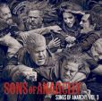 CD Cover Image. Title: Sons of Anarchy, Vol. 3, Artist: