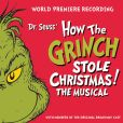 CD Cover Image. Title: Dr. Seuss' How The Grinch Stole Christmas! The Musical, Artist: Dr. Seuss