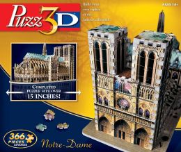 Puzz3D Notre Dame Cathedral